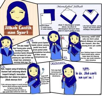 Tutorial Jilbab Syar'i